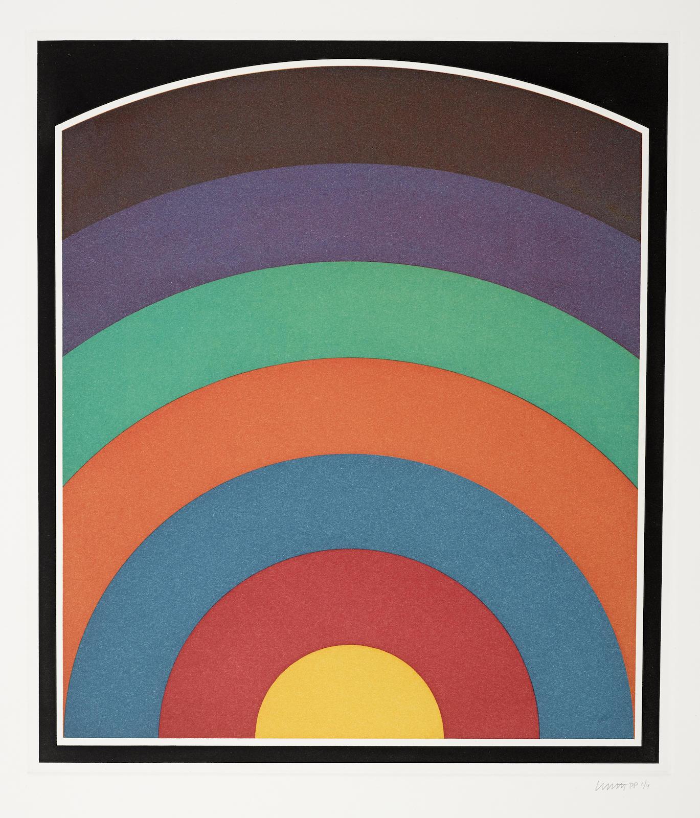 Sol LeWitt-Seven Equal Arcs (K. 1990.08)-1990