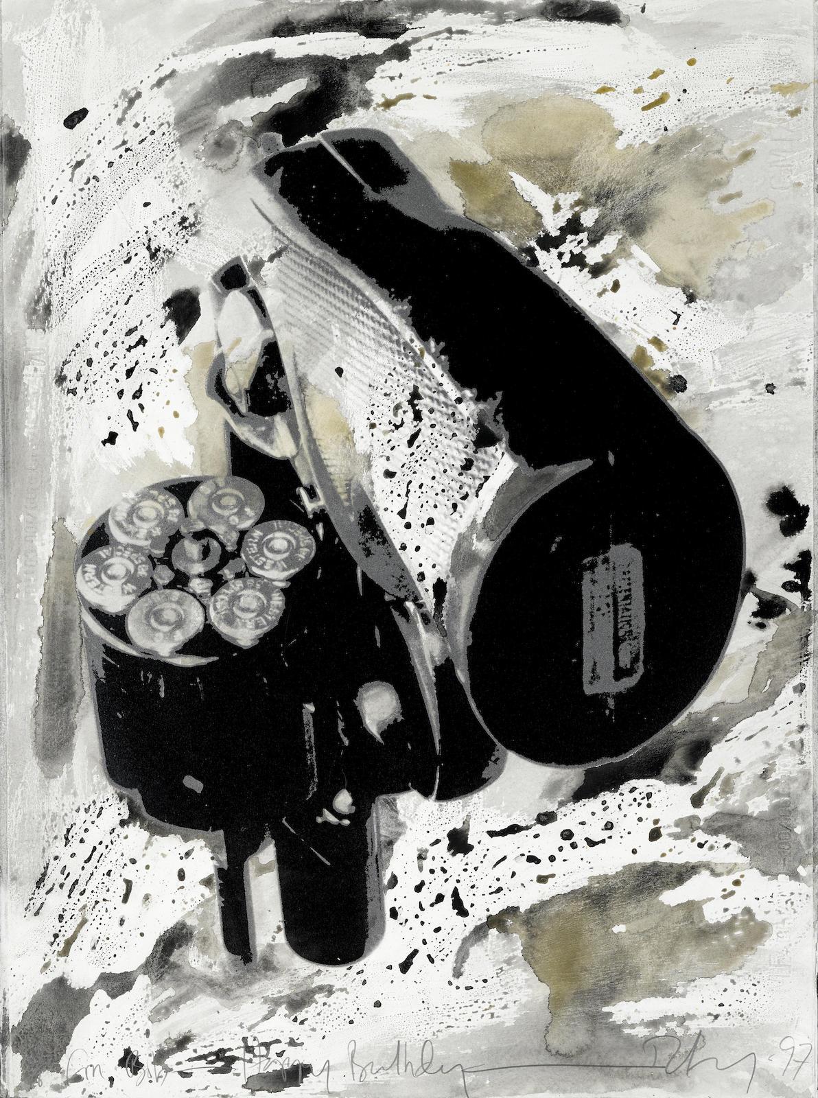 Robert Longo-Gun-1997