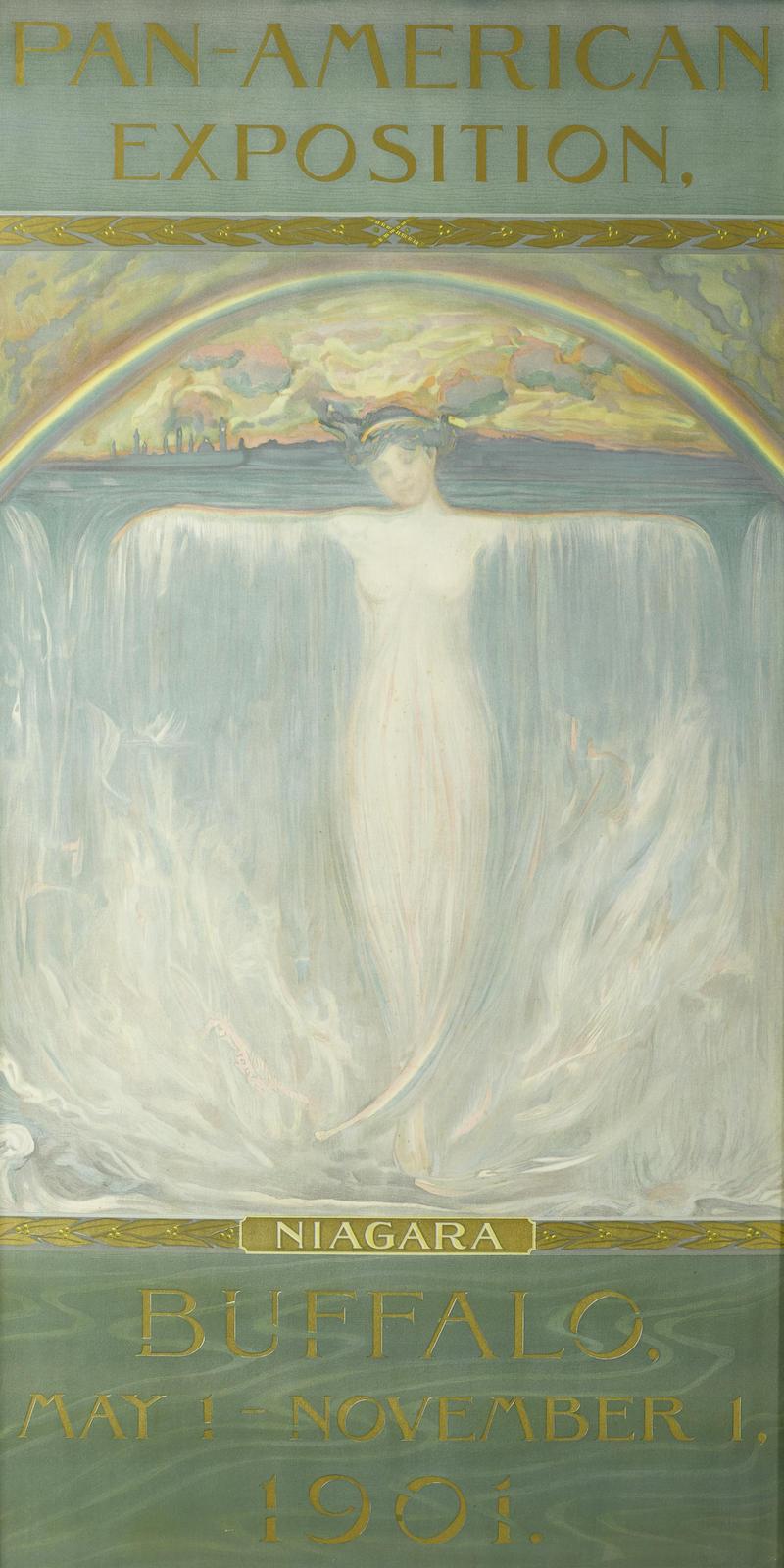 Evelyn Rumsey Cary-Pan-American Exposition, Niagara, Buffalo, May 1 - November 1, 1901-1901