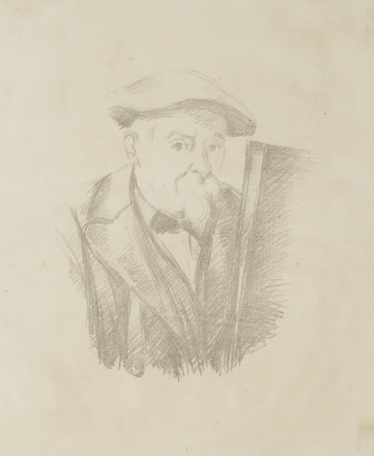 Paul Cezanne-Portrait De Cezanne Par Lui-Meme Portrait De Cezanne Par Lui-Meme  (C. 8; V. 1158)-1898