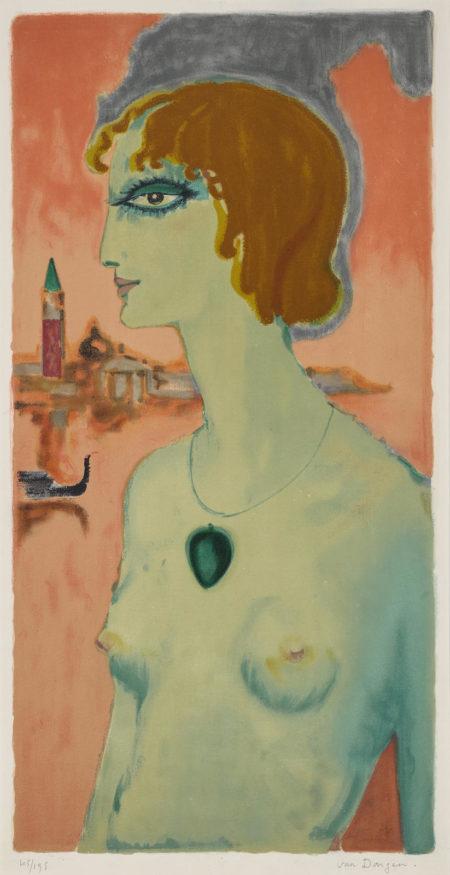 Kees van Dongen-La Marquise De Casati (Not In Juffermans)-1950
