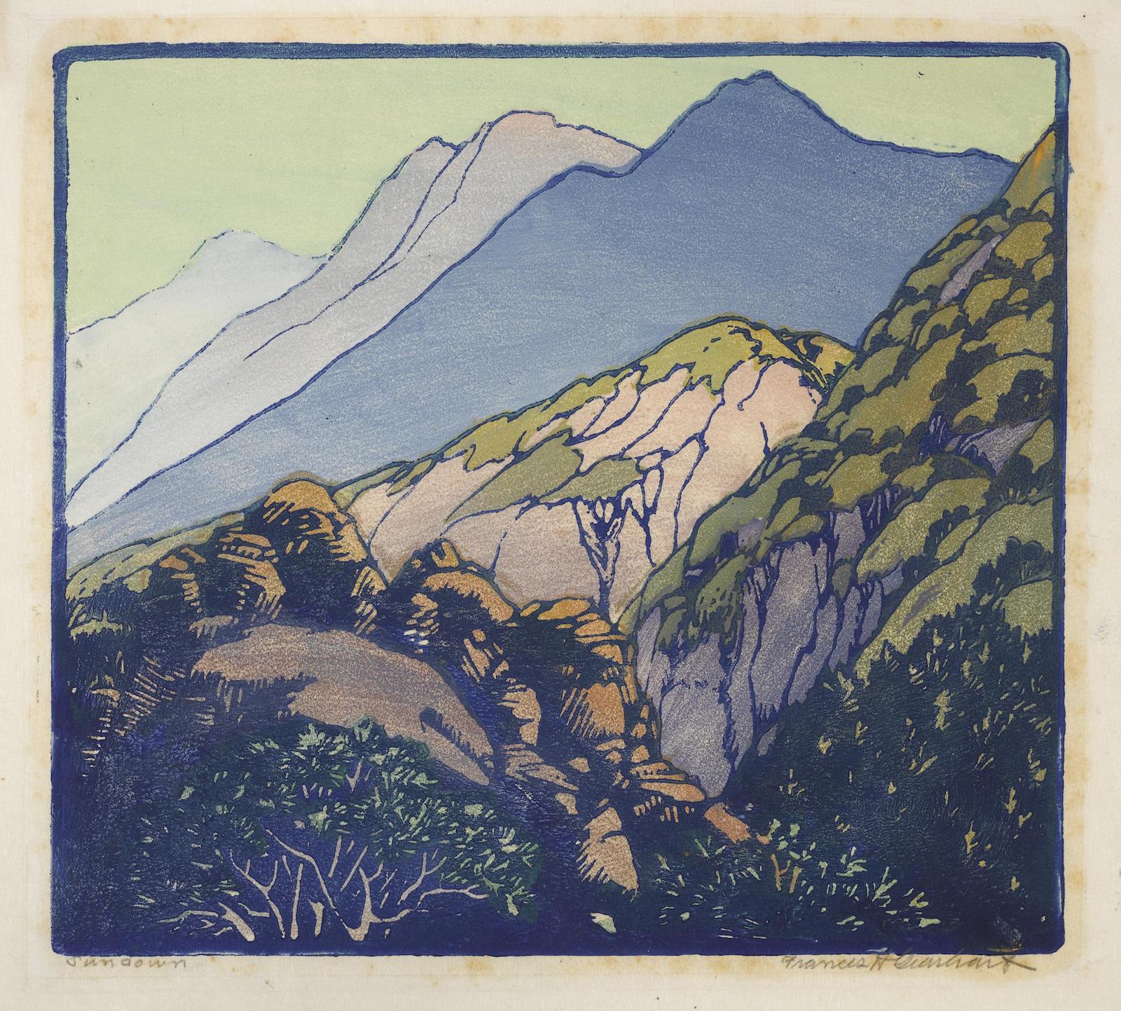 Frances Hammell Gearhart-Sundown (Not In Pmca)-1930