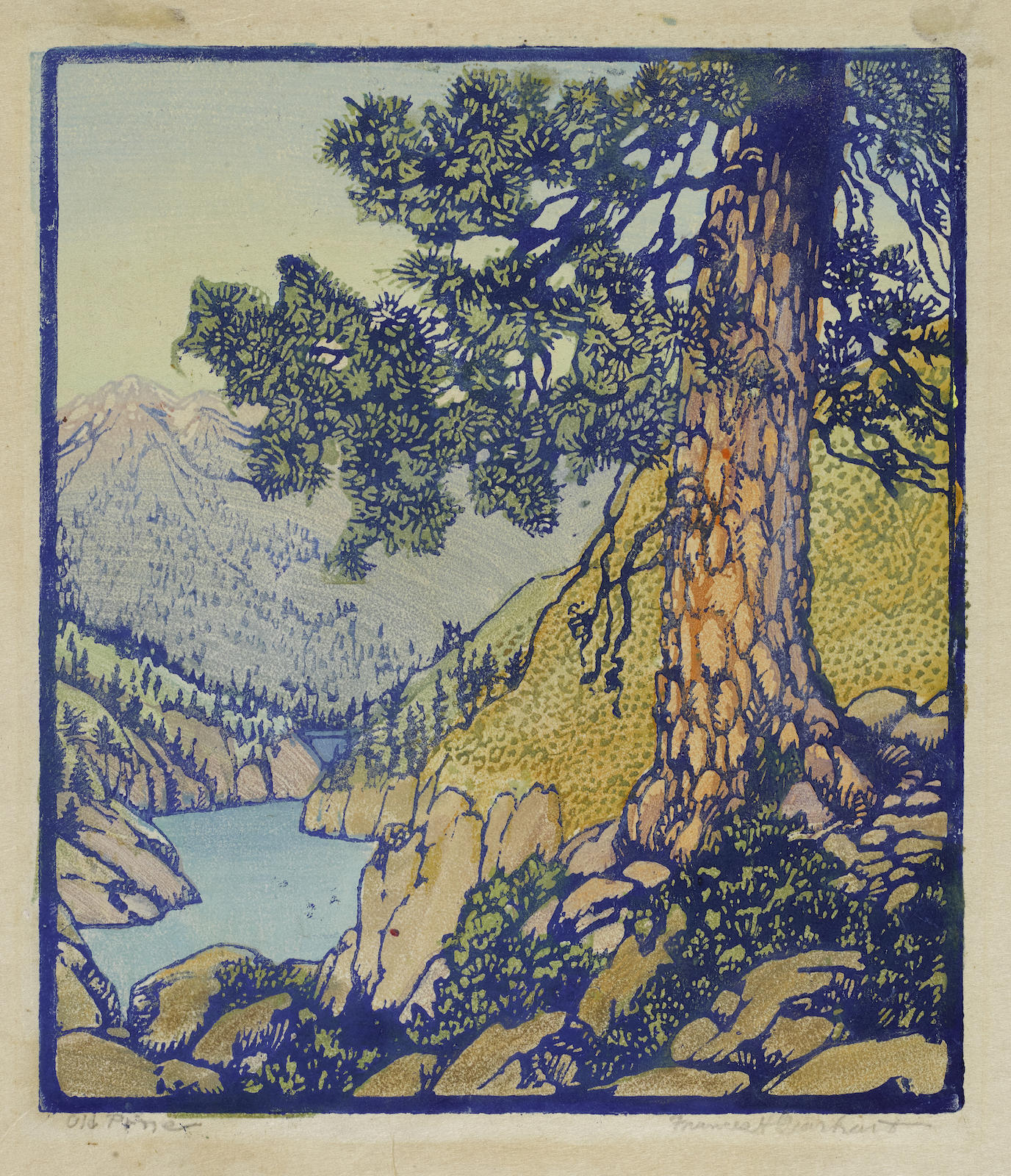 Frances Hammell Gearhart-Big Pine (Old Pine) (Pmca, P. 110)-