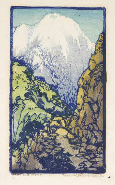 Frances Hammell Gearhart-Trail To Winter (Pmca, P. 115)-1930
