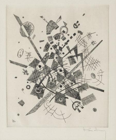 Wassily Kandinsky-Kleine Welten Ix (R. 172)-1922