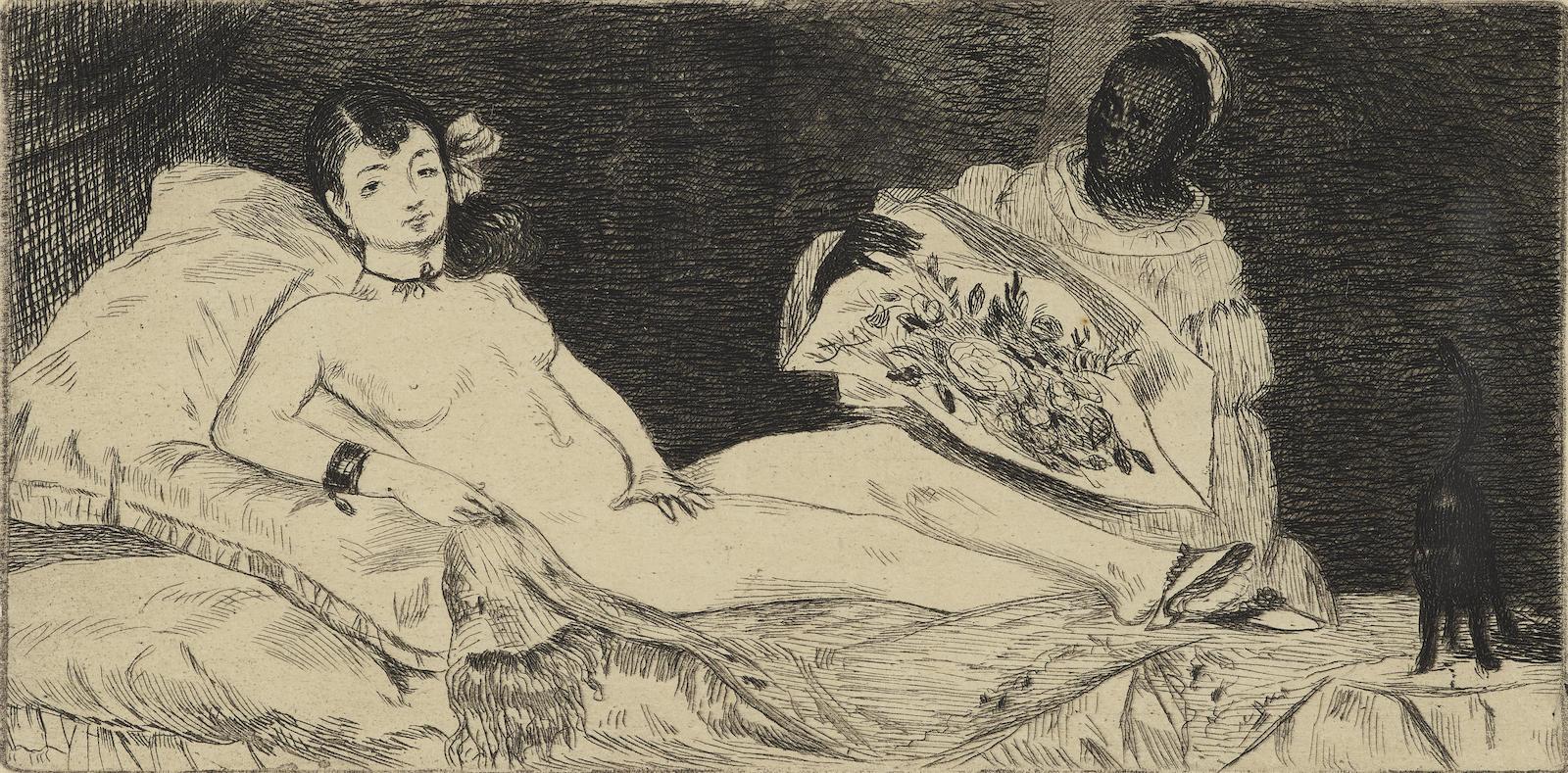 Edouard Manet-Olympia (G. 39; H. 53)-1867