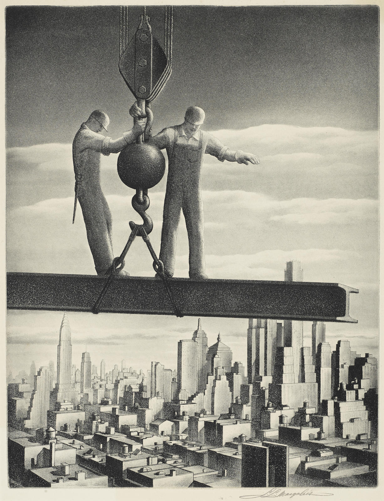 Samuel L. Margolies-Builders Of Babylon-1949