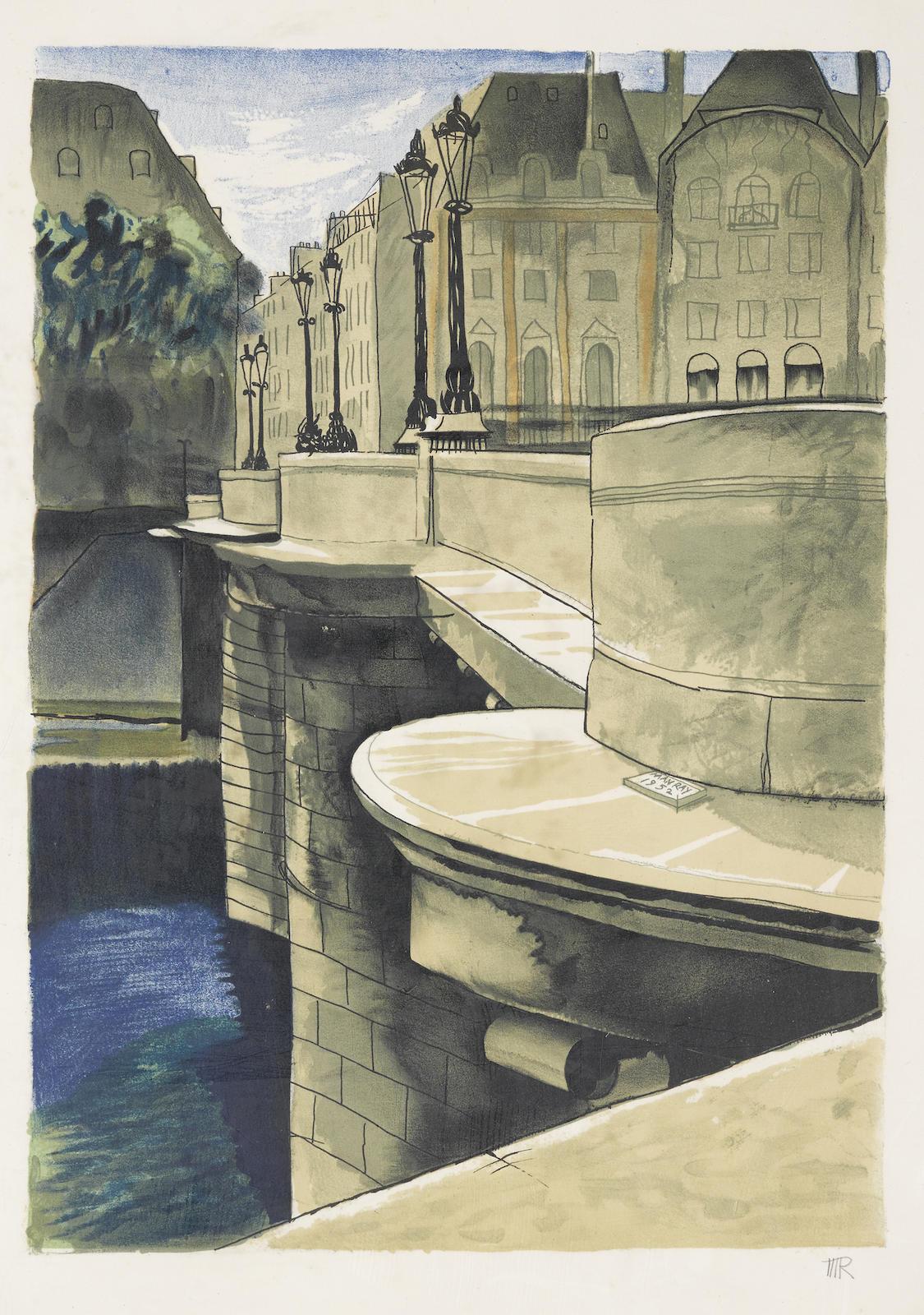 Man Ray-Pont Neuf (A. II.110)-1974