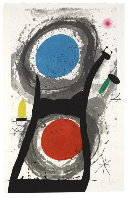 Joan Miro-Ladorateur Du Soleil (D. 483)-1969