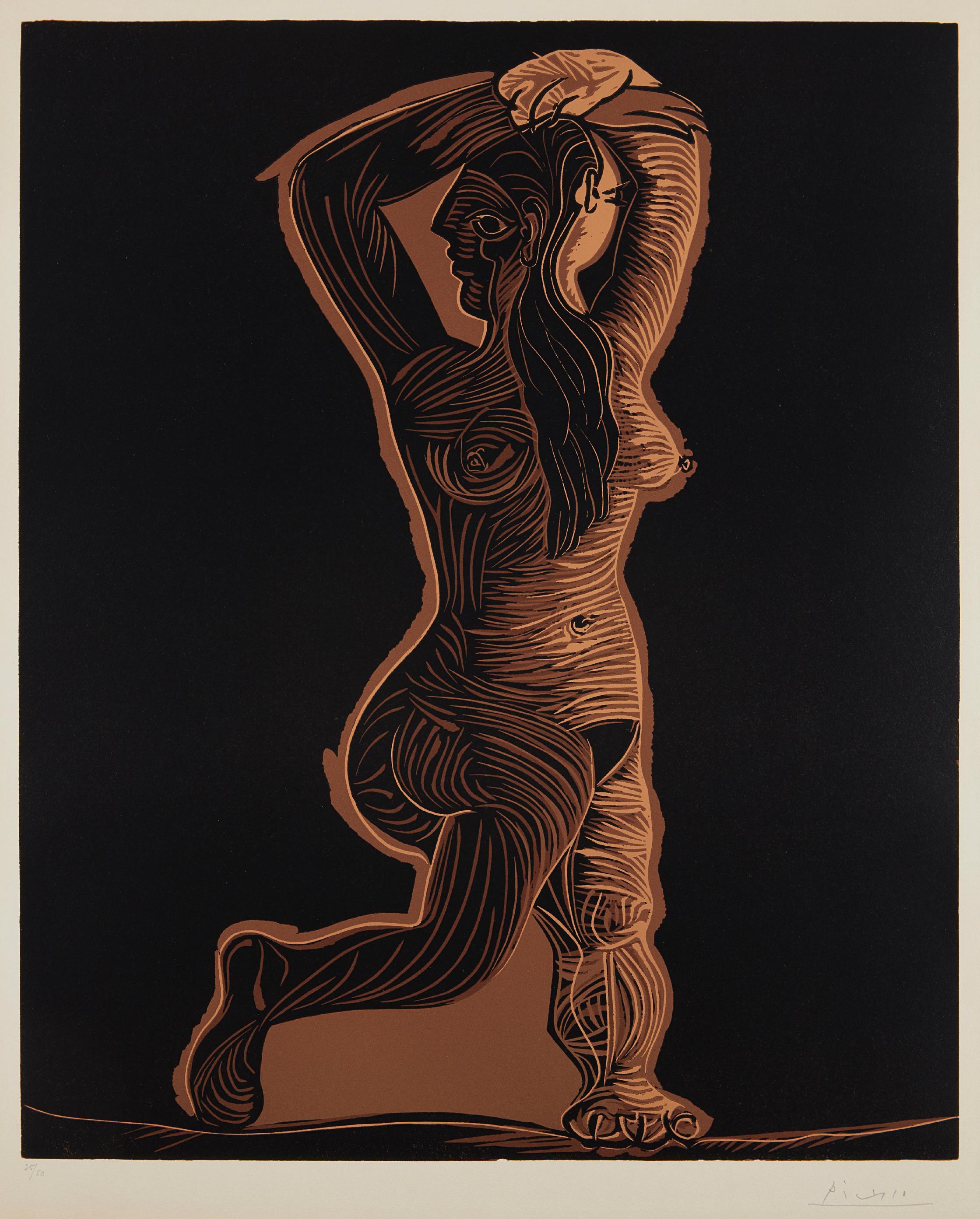 Pablo Picasso-Grand Nu De Femme (Large Nude Woman)-1962
