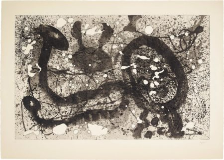 Joan Miro-Les Geants (The Giants): Plate 2-1960