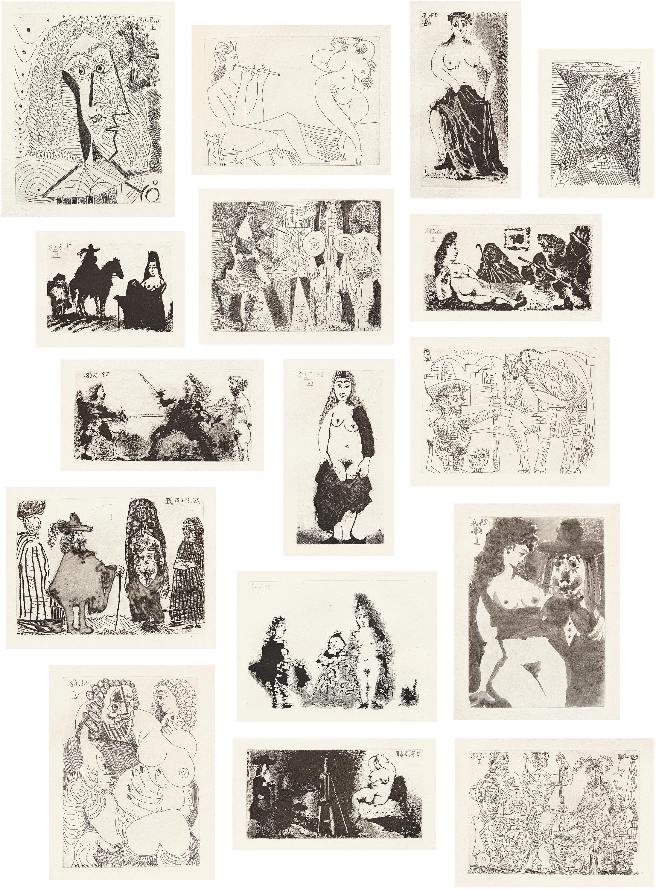 Pablo Picasso-La Celestine-1977