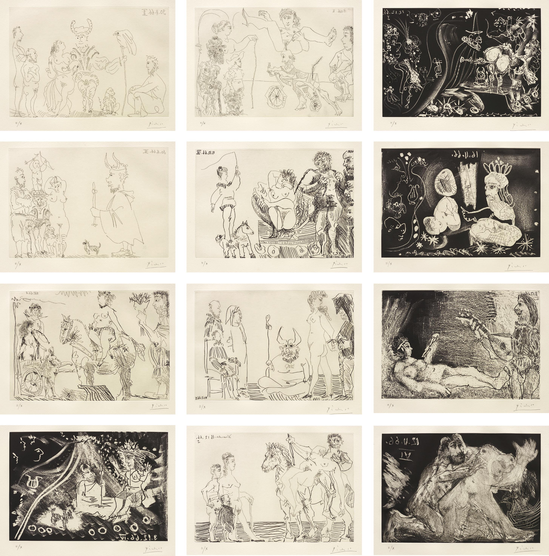 Pablo Picasso-Le Cocu Magnifique (The Magnificent Cuckold)-1968