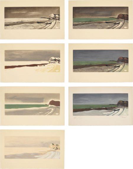 After Georges Braque - Varengeville: Seven Impressions-1956