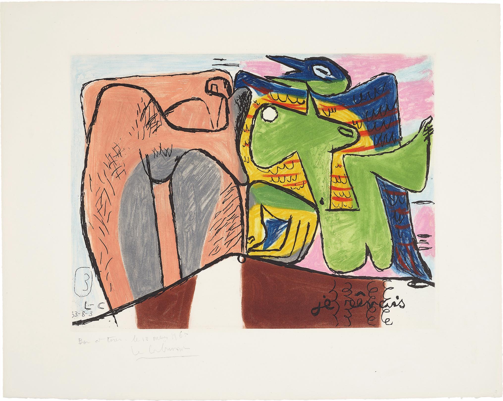 Le Corbusier-Unite: Plate 3-1963