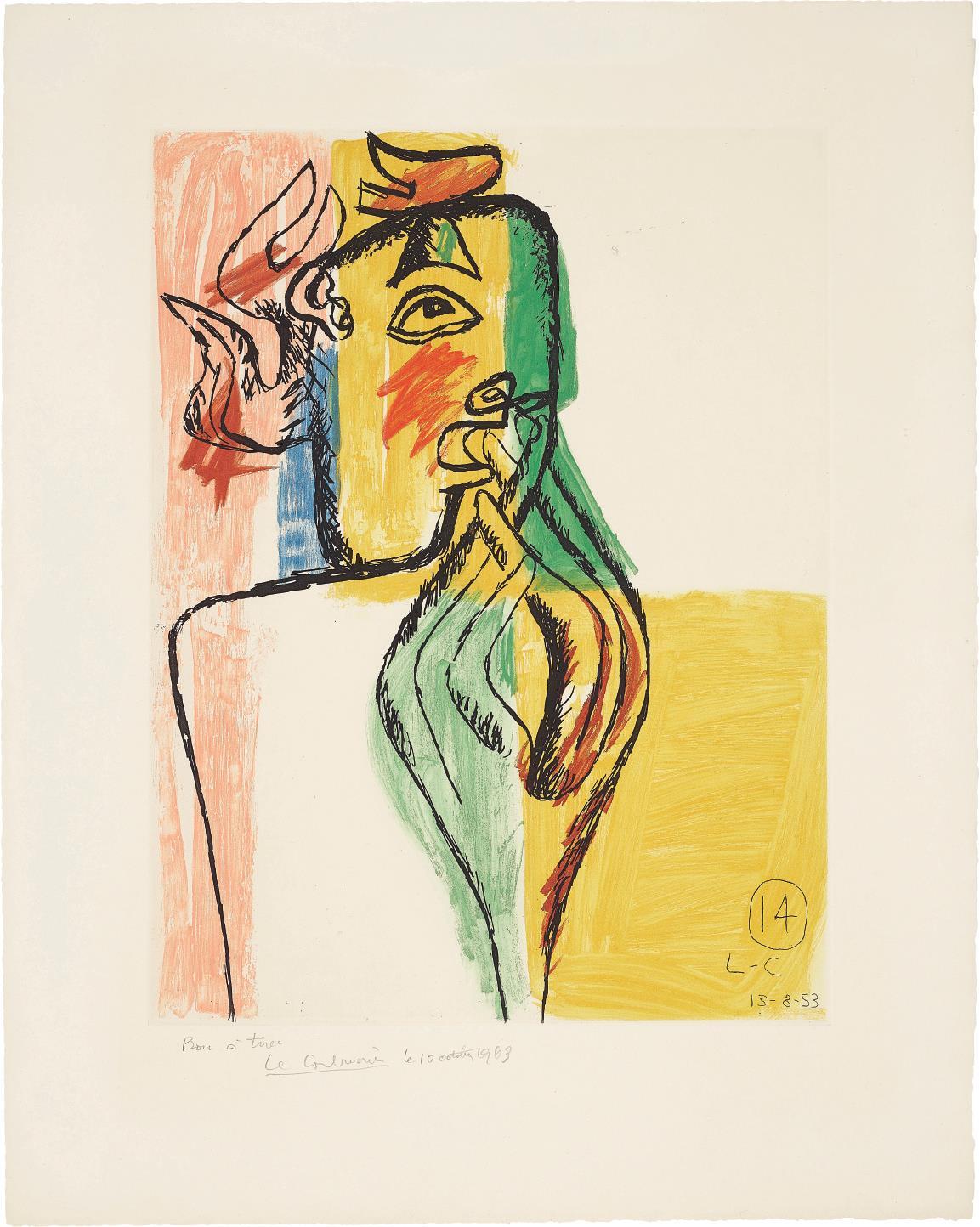 Le Corbusier-Unite: Plate 14-1963