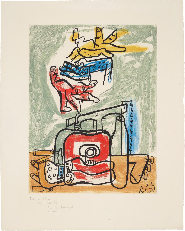 Le Corbusier-Unite: Plate 5-1963