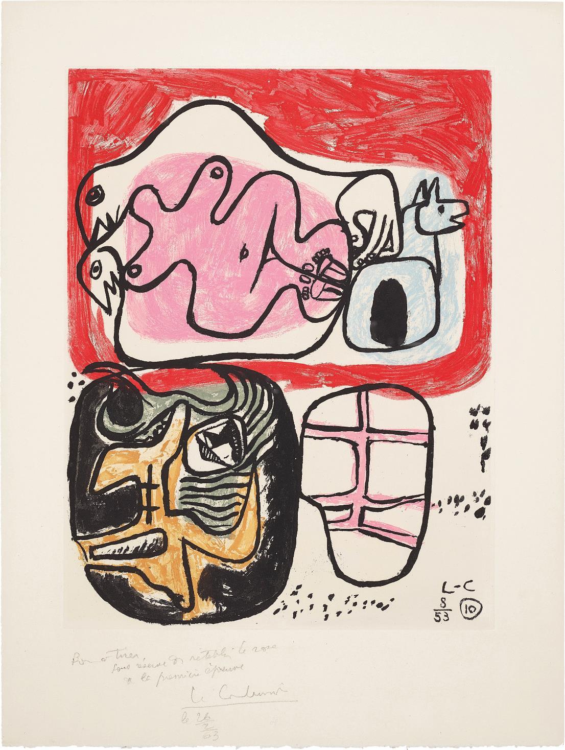 Le Corbusier-Unite: Plate 10-1963