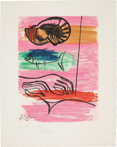 Le Corbusier-Unite: Plate 6-1963