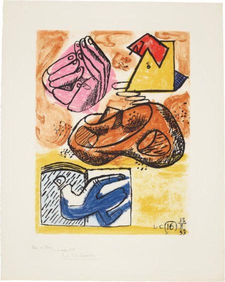 Le Corbusier-Unite: Plate 16-1963