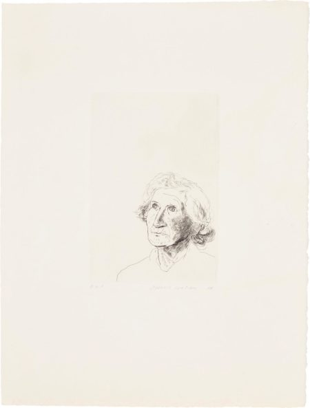 David Hockney-My Mother Today: As A Study For Felicite In 'A Simple Heart' Of Gustave Flaubert-1974