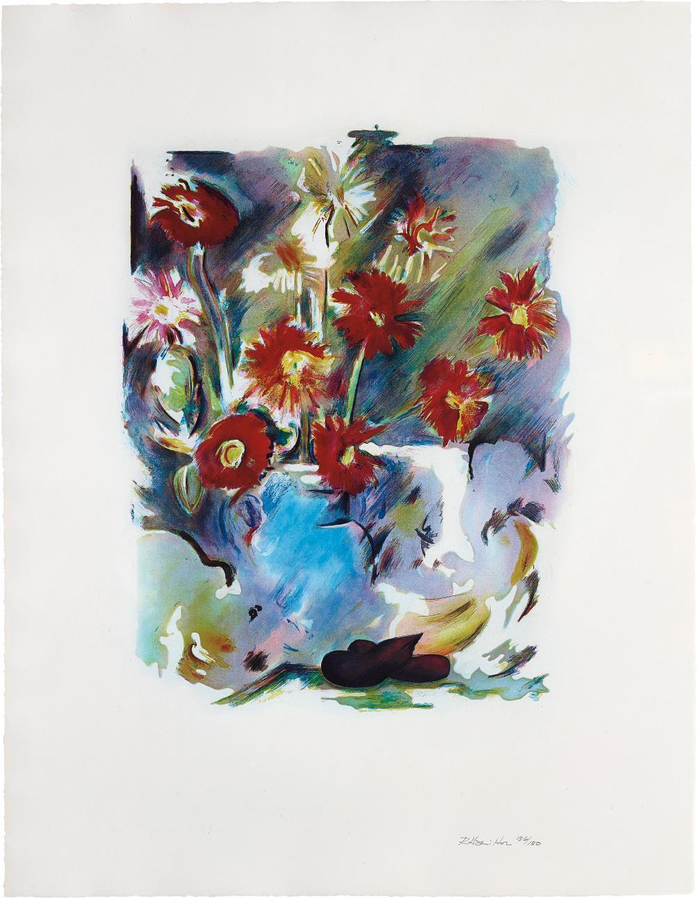 Richard Hamilton-Trichromatic Flower-Piece-1974