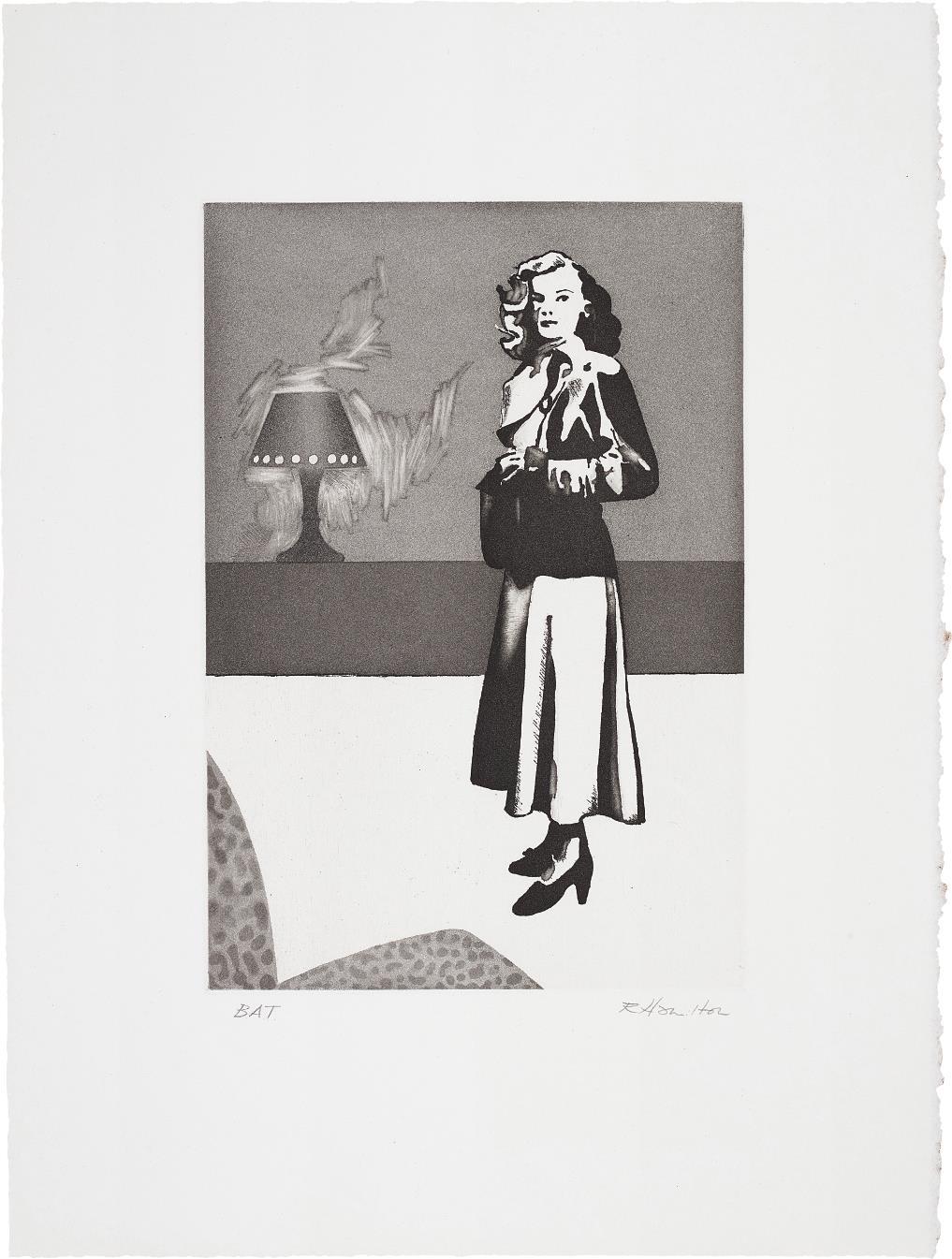 Richard Hamilton-Patricia Knight II-1982