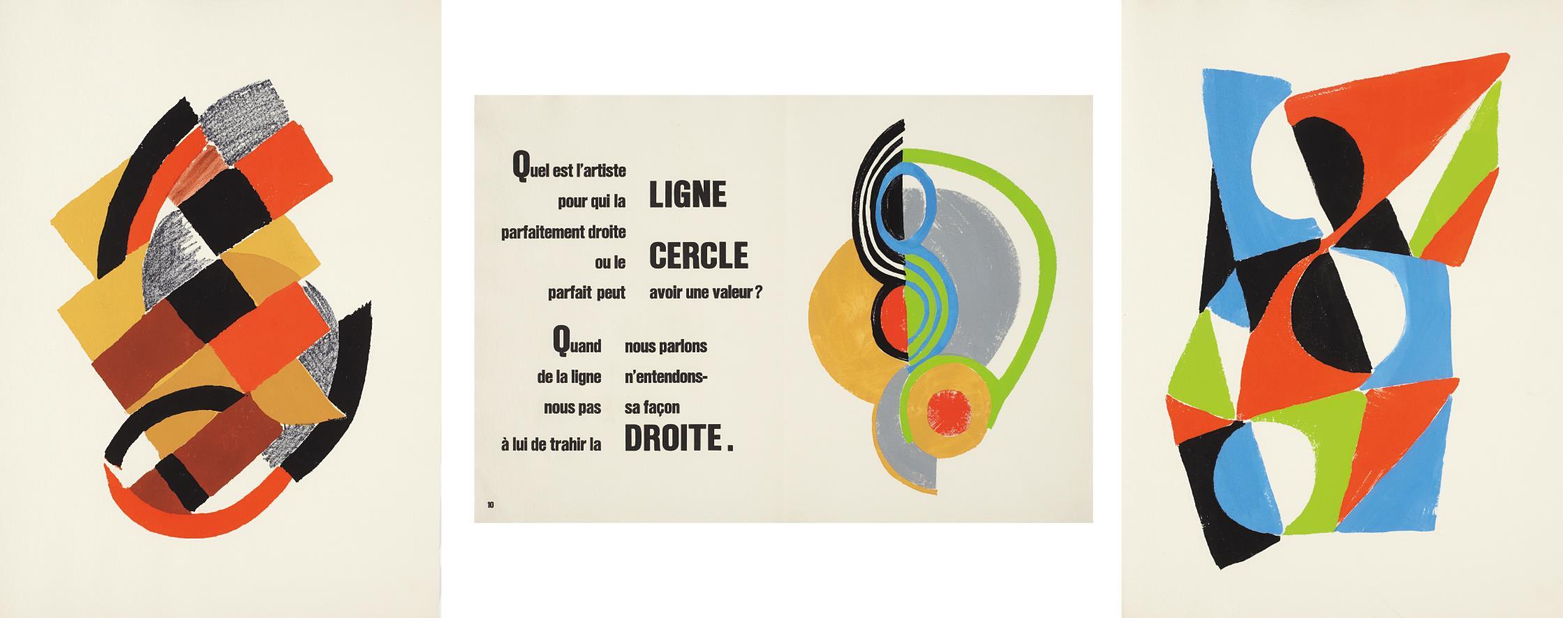 Sonja Delaunay - Rythmes-Couleurs-1966