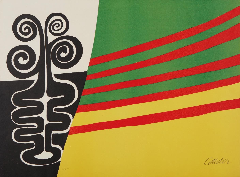 Alexander Calder-Violon-1960