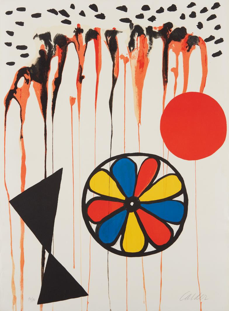 Alexander Calder-La Mousson (The Monsoon)-1965