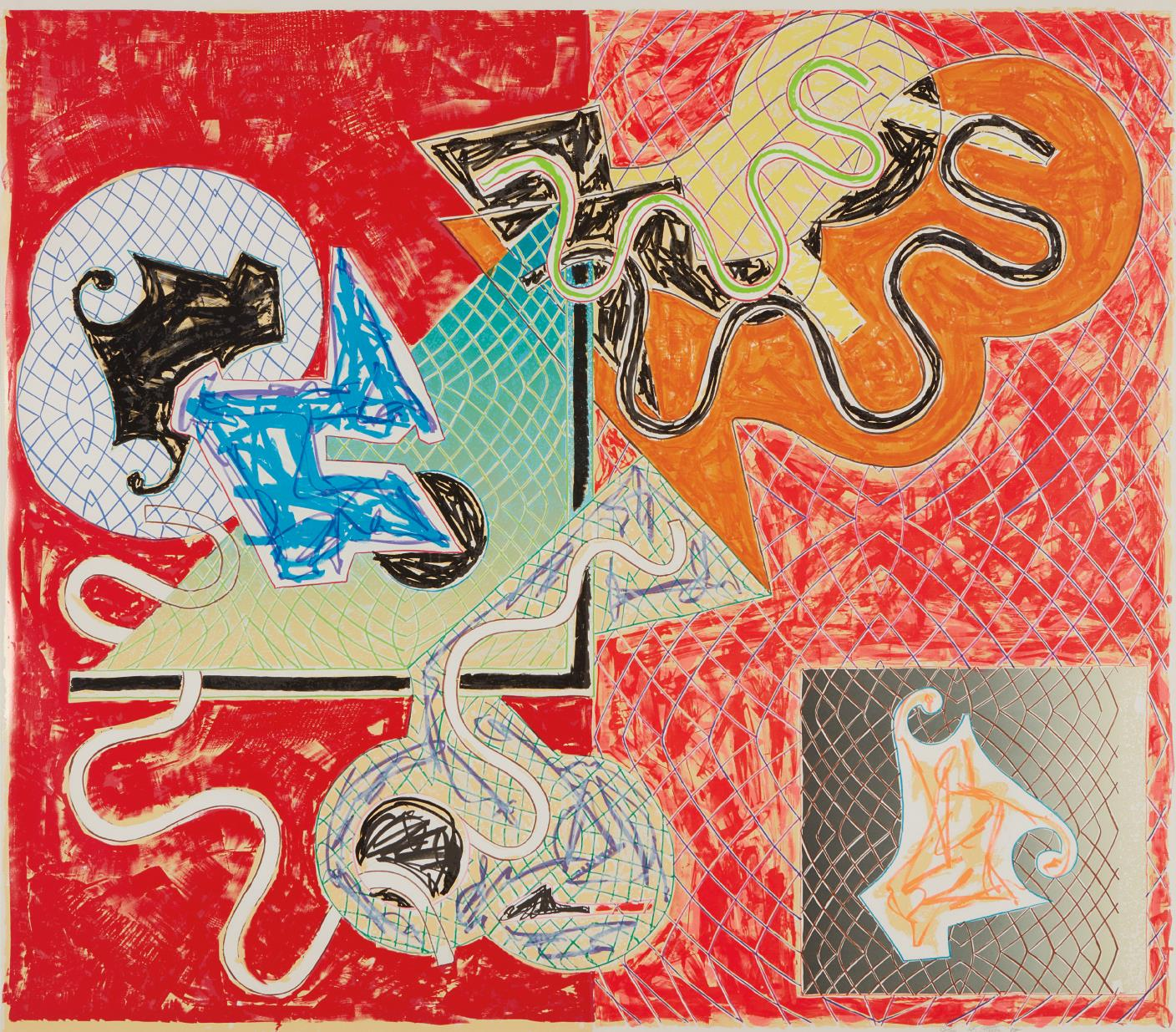 Frank Stella-Shards Iv-1982