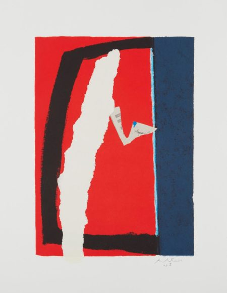 Robert Motherwell-Game Of Chance-1987