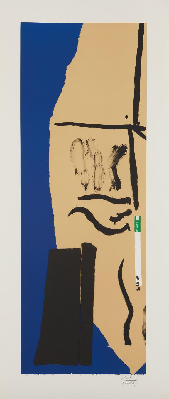 Robert Motherwell-America La France Variations VIII-1984