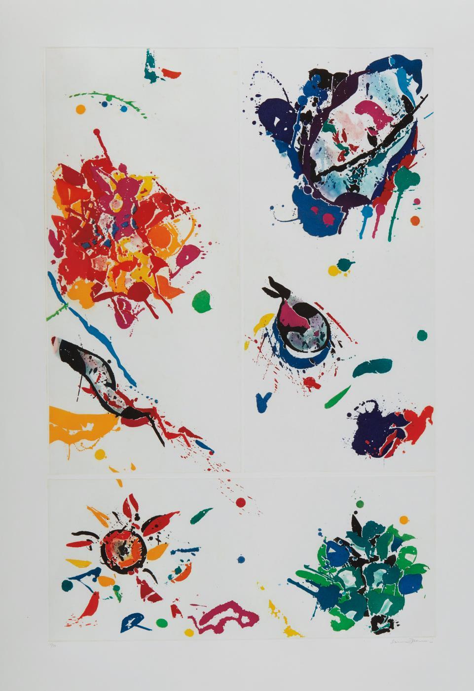 Sam Francis-Untitled-1988