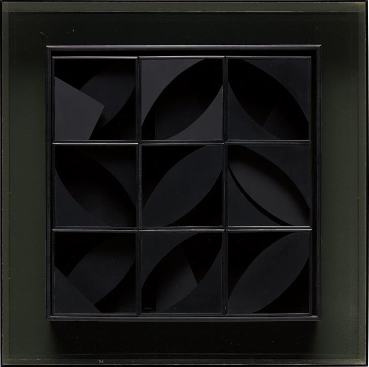 Louise Nevelson-Night Leaf-1969