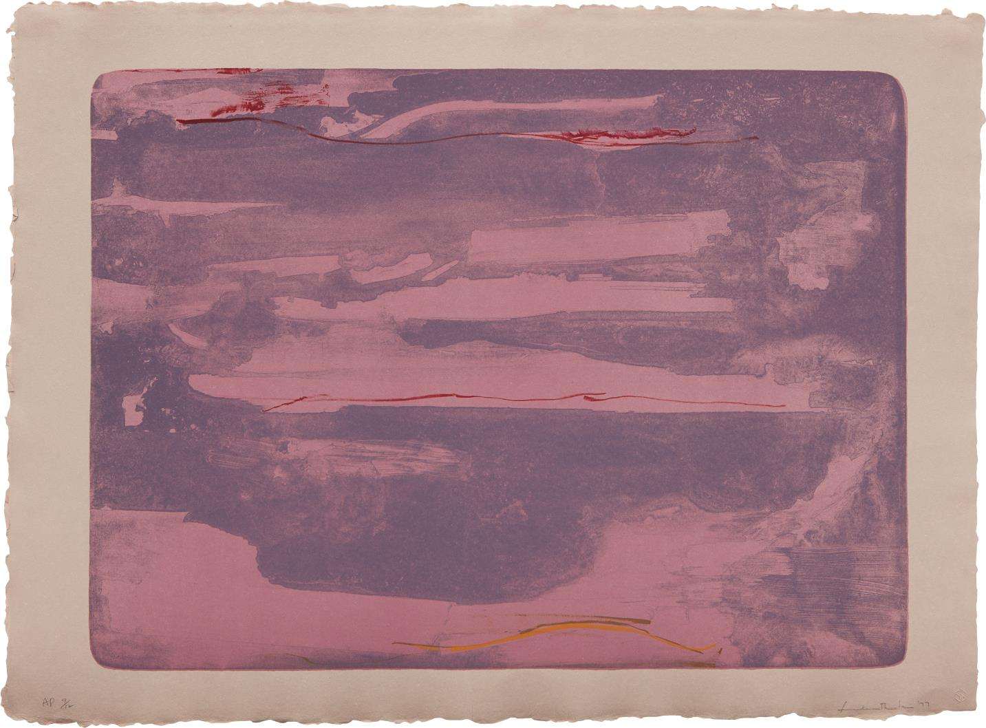 Helen Frankenthaler-Dream Walk-1977