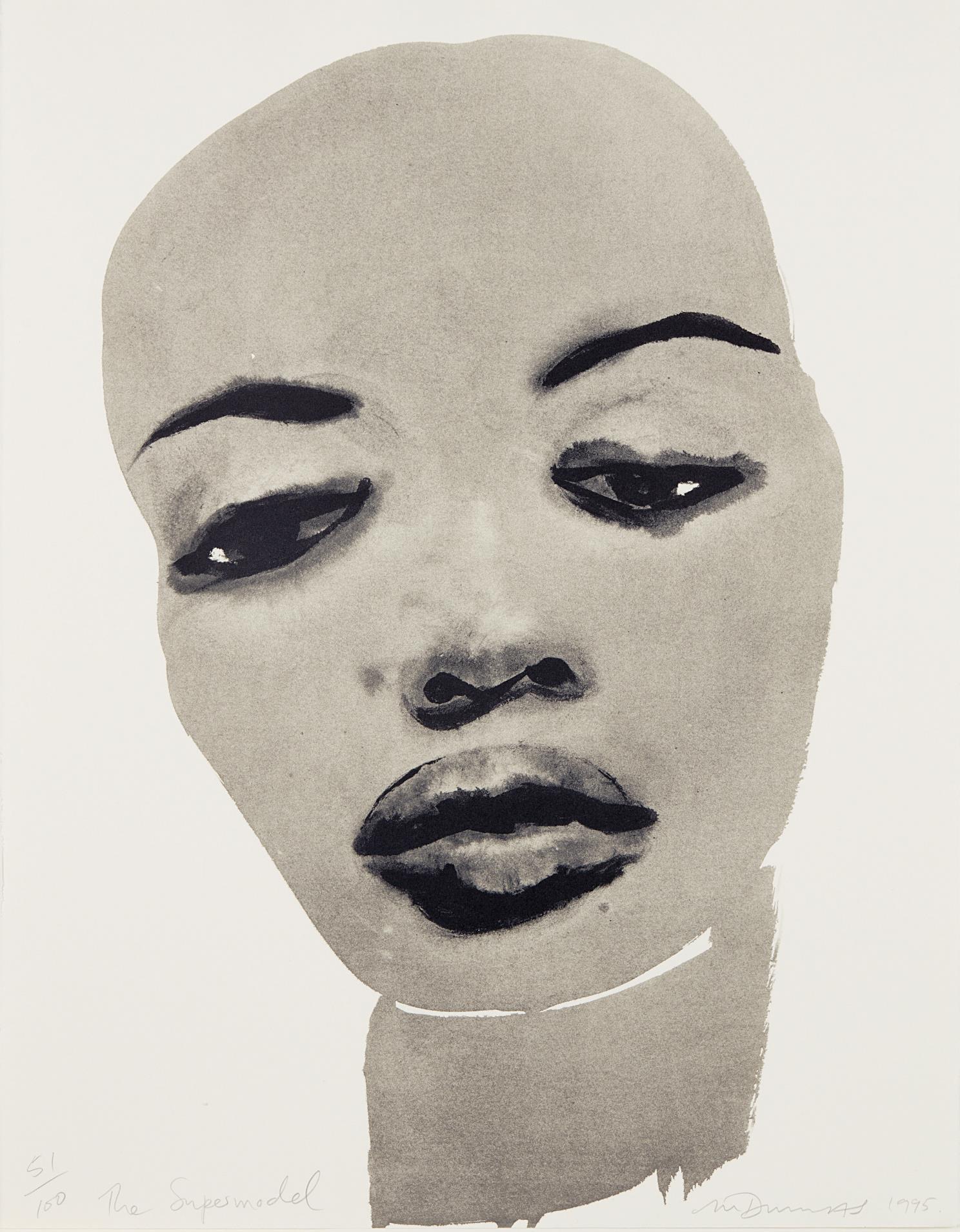 Marlene Dumas-Super Model-1995