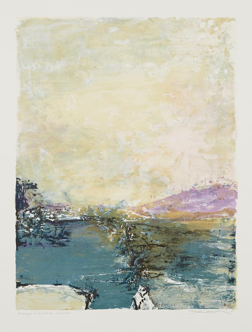 Zao Wou-Ki-Untitled-1991