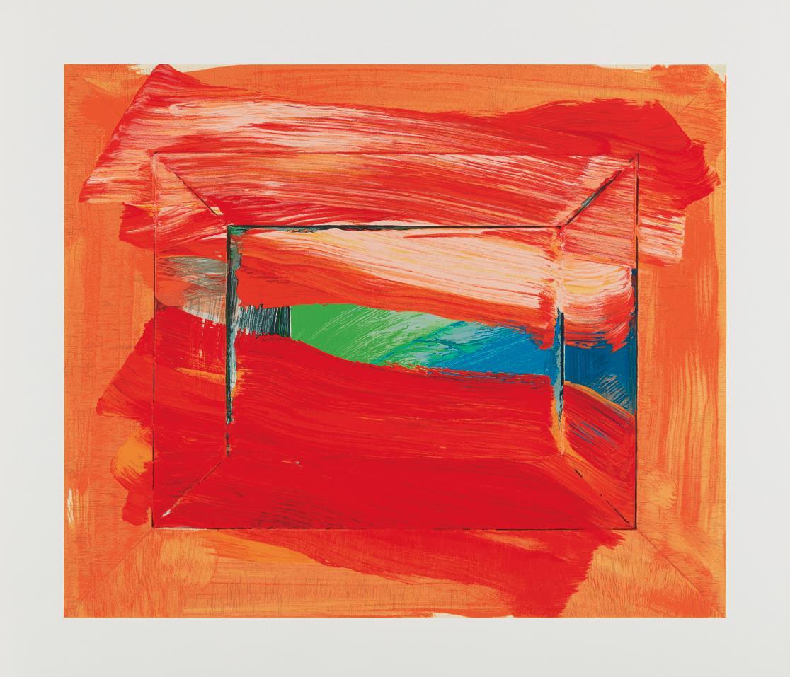 Howard Hodgkin-The Skys The Limit-2003