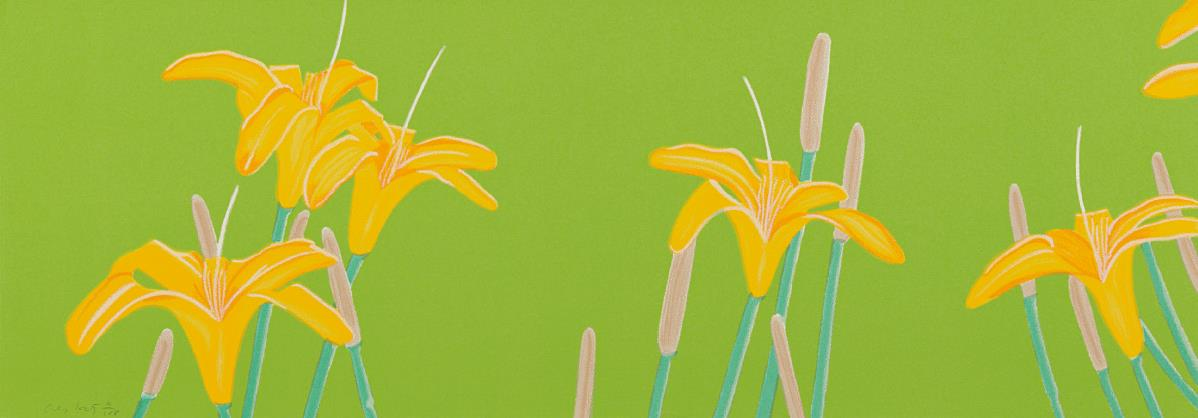 Alex Katz-Day Lillies-1993