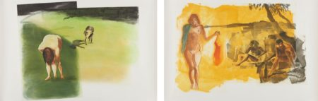 Eric Fischl-Rays; And Dog-1989