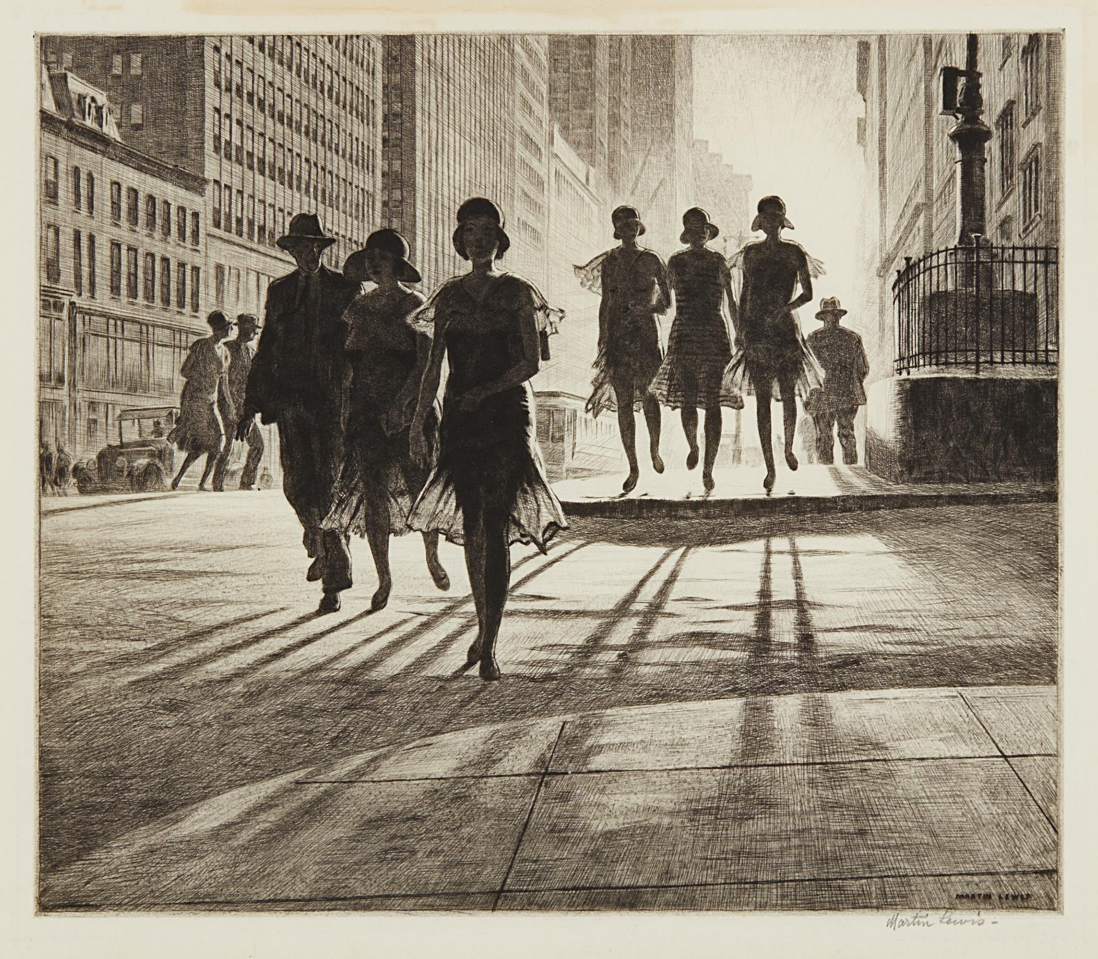 Martin Lewis-Shadow Dance-1930