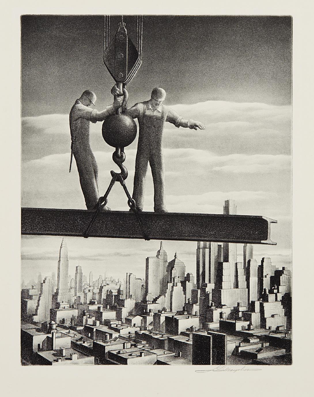 Samuel L. Margolies-Builders Of Babylon-1937