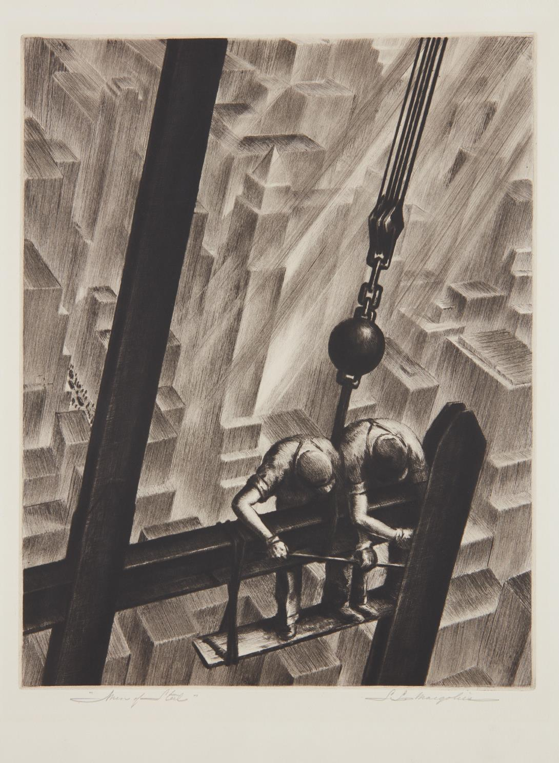 Samuel L. Margolies-Men Of Steel-1941