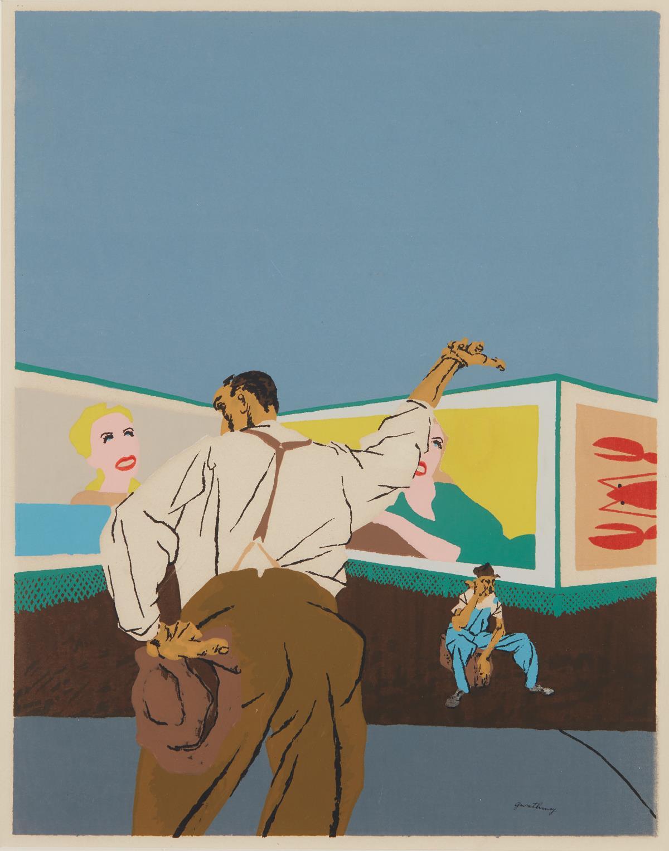 Robert Gwathmey-The Hitchhiker-1937