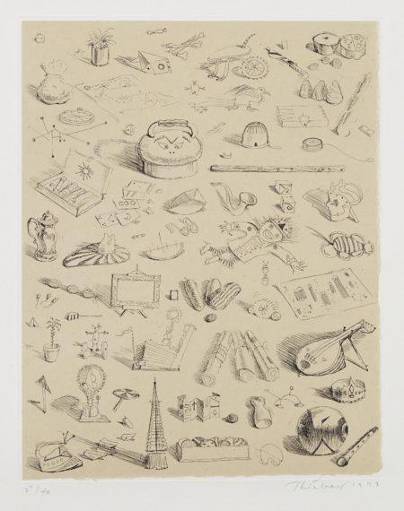 Wayne Thiebaud-Souvenirs Of Cities-1999