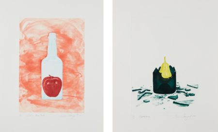 James Rosenquist-Blood In Warm Water; And Appearance, From The Glass Wishes-1981