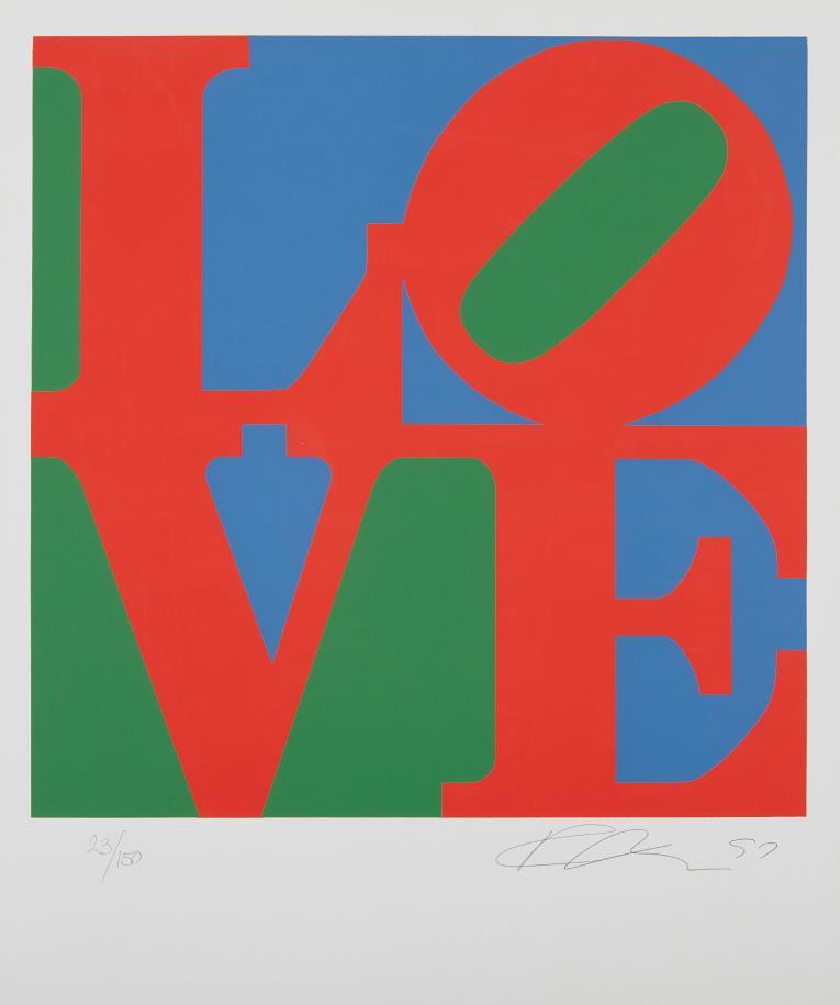 Robert Indiana-Love-1997