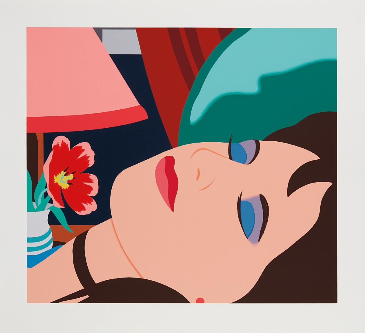 Tom Wesselmann-Cynthia In The Bedroom-1981