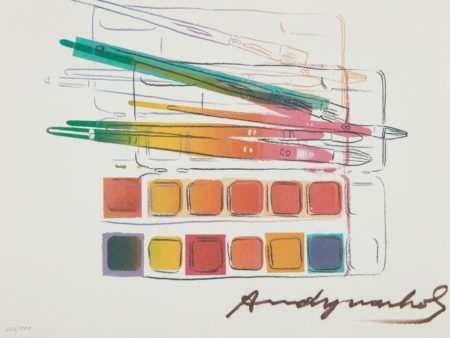 Andy Warhol-Watercolor Paint Kit-1982